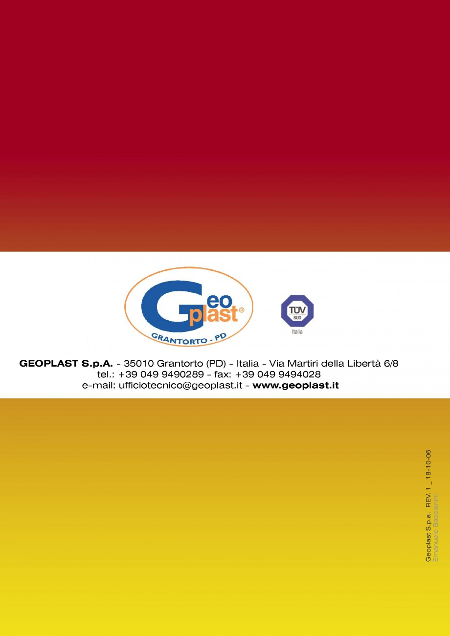 Pagina 10 - Cofraj refolosibil pentru coloane cilindrice GEOPLAST GEOTUB®, GEOTUB PANEL...