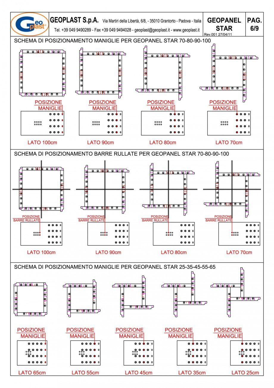 Pagina 7 - Panou refolosibil de cofraj modular GEOPLAST GEOPANEL® STAR Instructiuni montaj,...
