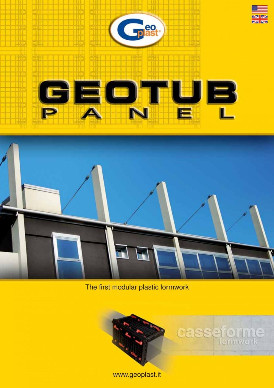 Pagina 1 - Cofraj modular refolosibil pentru coloane patrate sau dreptunghiulare GEOPLAST GEOTUB...