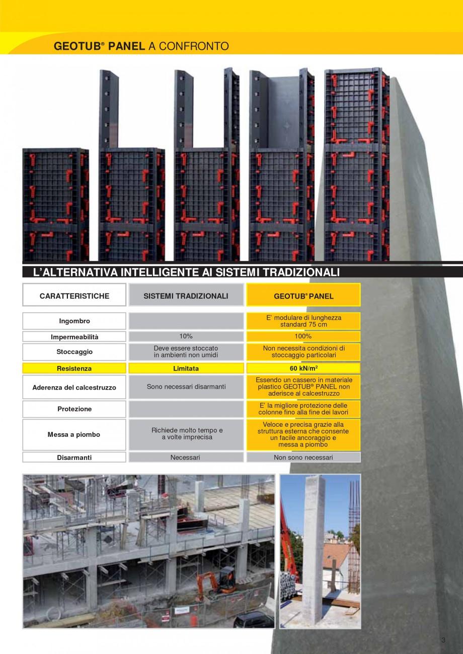 Pagina 3 - Cofraj modular refolosibil pentru coloane patrate sau dreptunghiulare GEOPLAST GEOTUB...