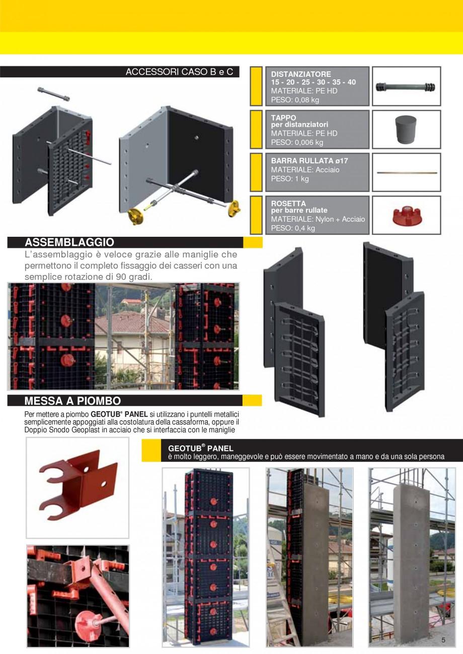 Pagina 5 - Cofraj modular refolosibil pentru coloane patrate sau dreptunghiulare GEOPLAST GEOTUB...
