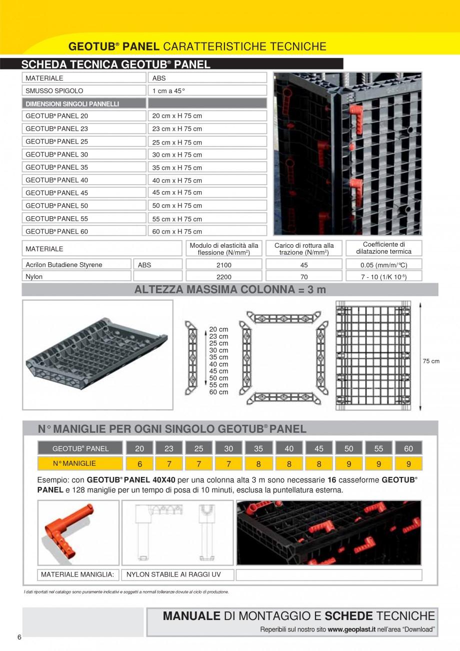 Pagina 6 - Cofraj modular refolosibil pentru coloane patrate sau dreptunghiulare GEOPLAST GEOTUB...