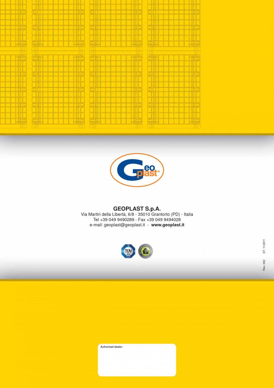 Pagina 8 - Cofraj modular refolosibil pentru coloane patrate sau dreptunghiulare GEOPLAST GEOTUB...