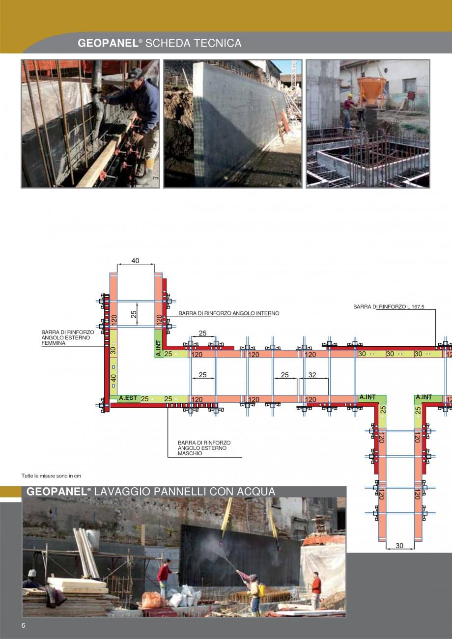 Pagina 6 - Cofraje refolosibile din material plastic pentru zidari GEOPLAST GEOPANEL® Catalog,...