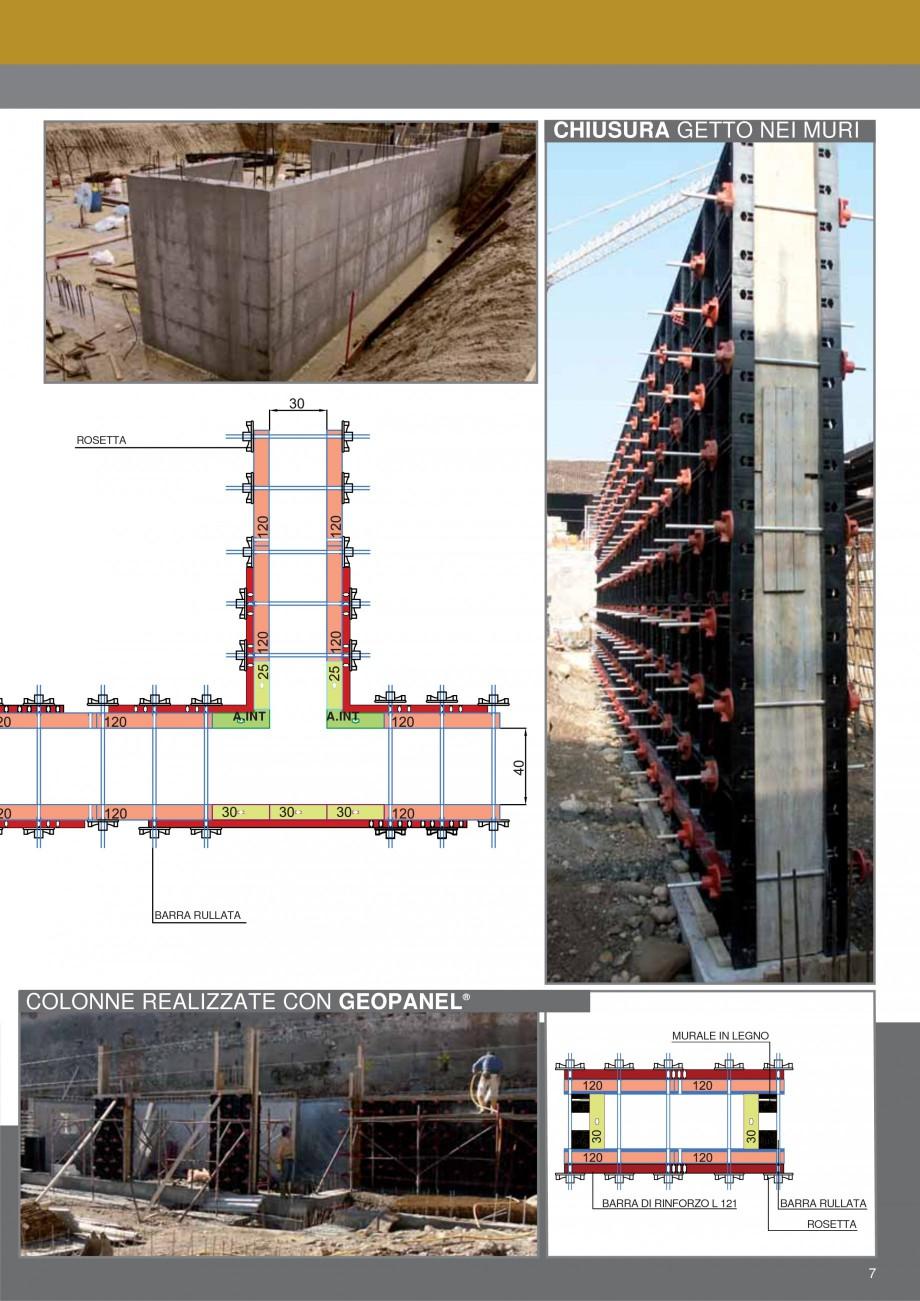 Pagina 7 - Cofraje refolosibile din material plastic pentru zidari GEOPLAST GEOPANEL® Catalog,...