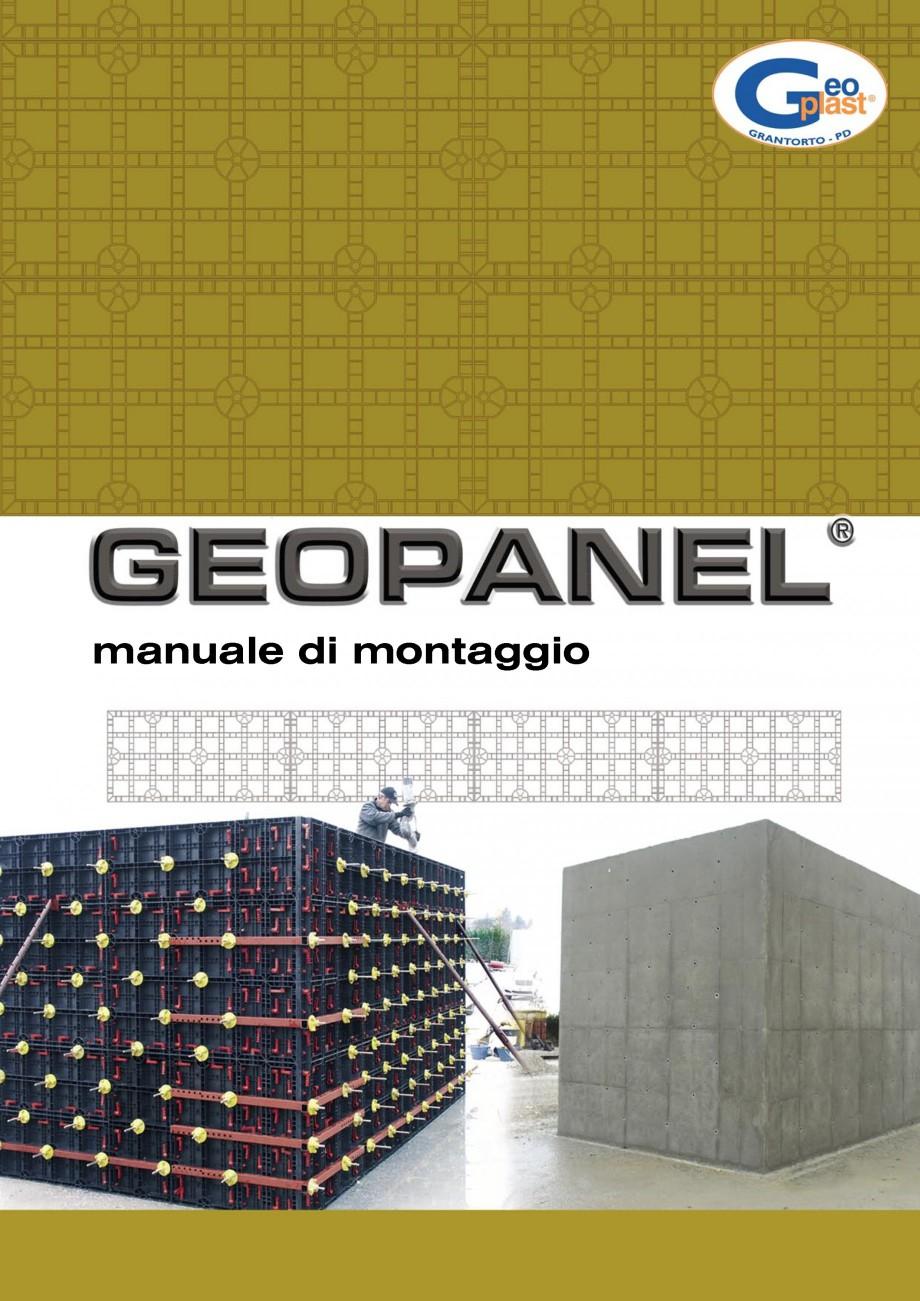 Pagina 1 - Cofraje refolosibile din material plastic pentru zidari GEOPLAST GEOPANEL®...