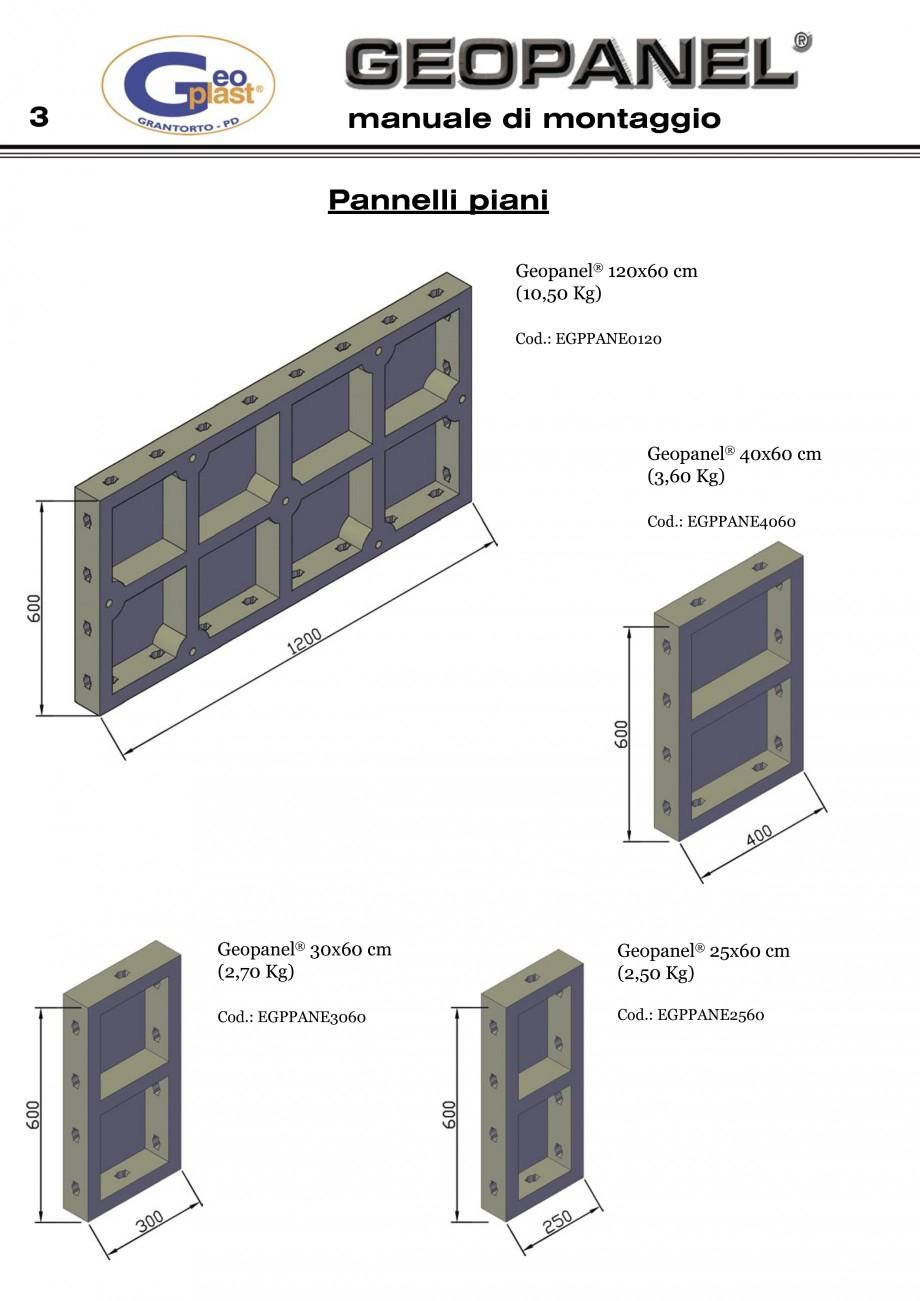 Pagina 4 - Cofraje refolosibile din material plastic pentru zidari GEOPLAST GEOPANEL®...