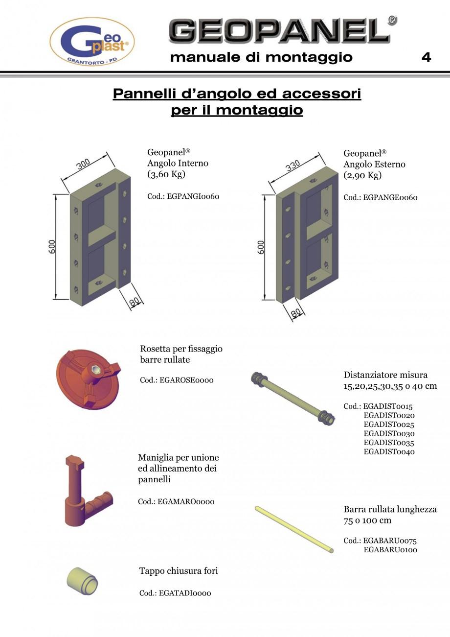 Pagina 5 - Cofraje refolosibile din material plastic pentru zidari GEOPLAST GEOPANEL®...
