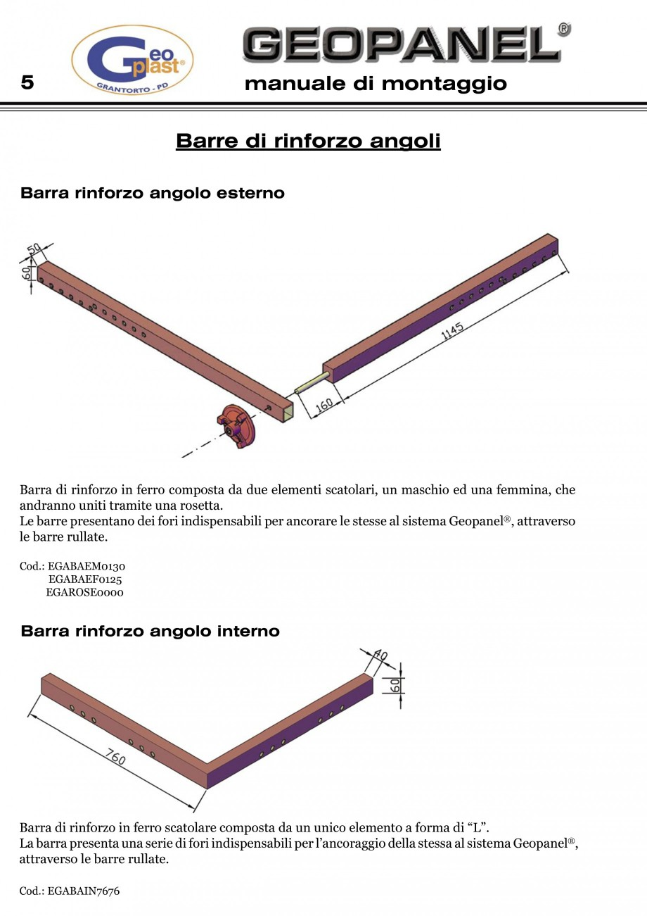Pagina 6 - Cofraje refolosibile din material plastic pentru zidari GEOPLAST GEOPANEL®...