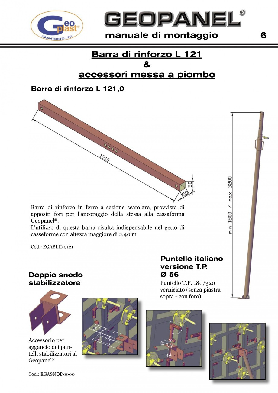 Pagina 7 - Cofraje refolosibile din material plastic pentru zidari GEOPLAST GEOPANEL®...