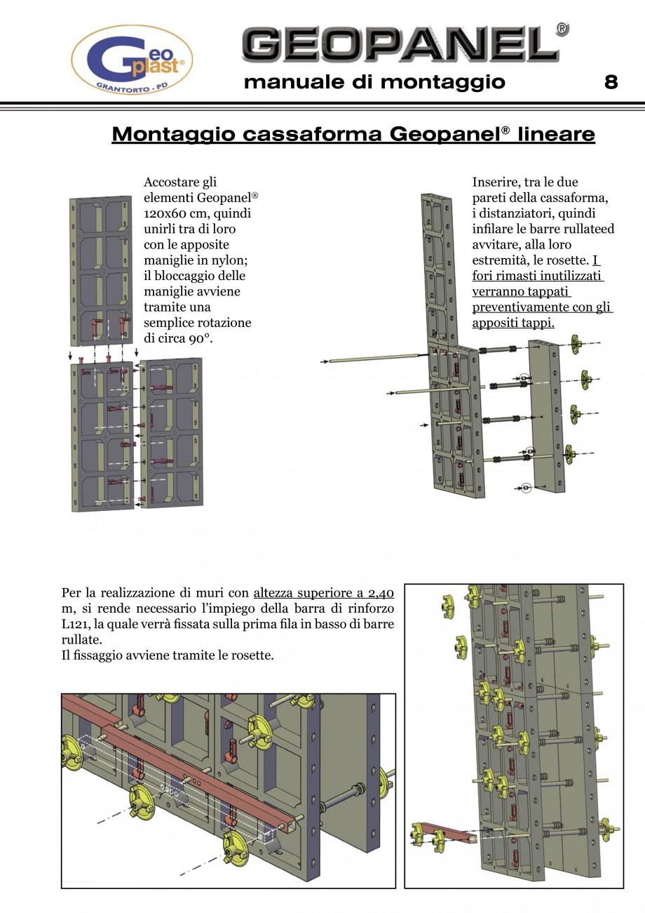 Pagina 9 - Cofraje refolosibile din material plastic pentru zidari GEOPLAST GEOPANEL®...