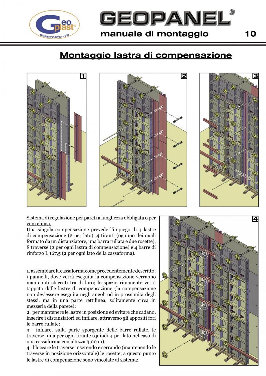 Pagina 11 - Cofraje refolosibile din material plastic pentru zidari GEOPLAST GEOPANEL®...
