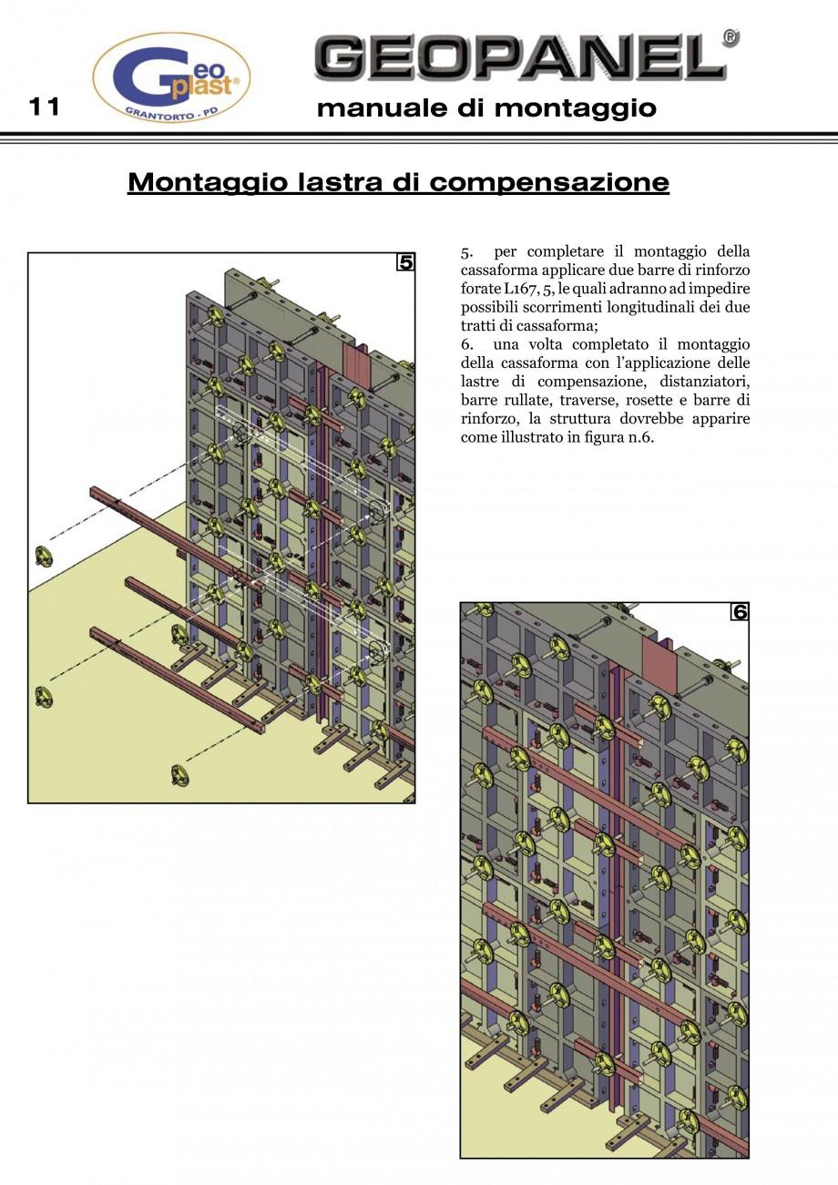 Pagina 12 - Cofraje refolosibile din material plastic pentru zidari GEOPLAST GEOPANEL®...