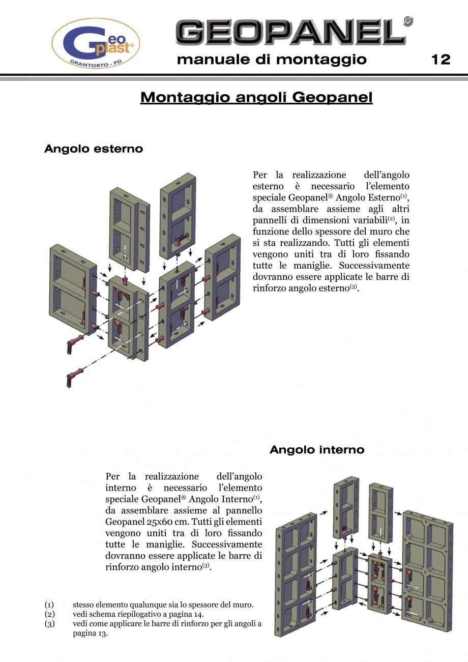 Pagina 13 - Cofraje refolosibile din material plastic pentru zidari GEOPLAST GEOPANEL®...