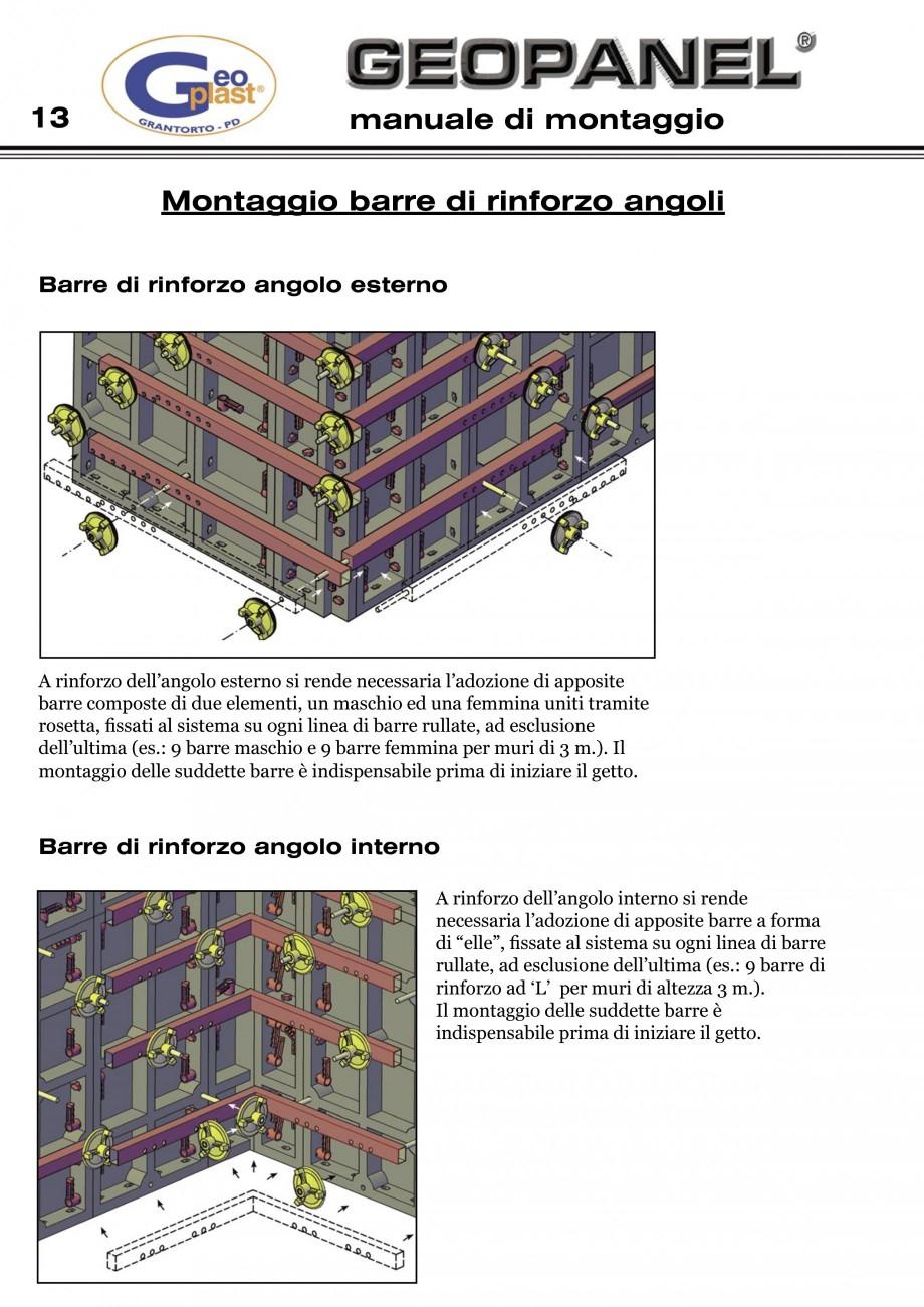 Pagina 14 - Cofraje refolosibile din material plastic pentru zidari GEOPLAST GEOPANEL®...