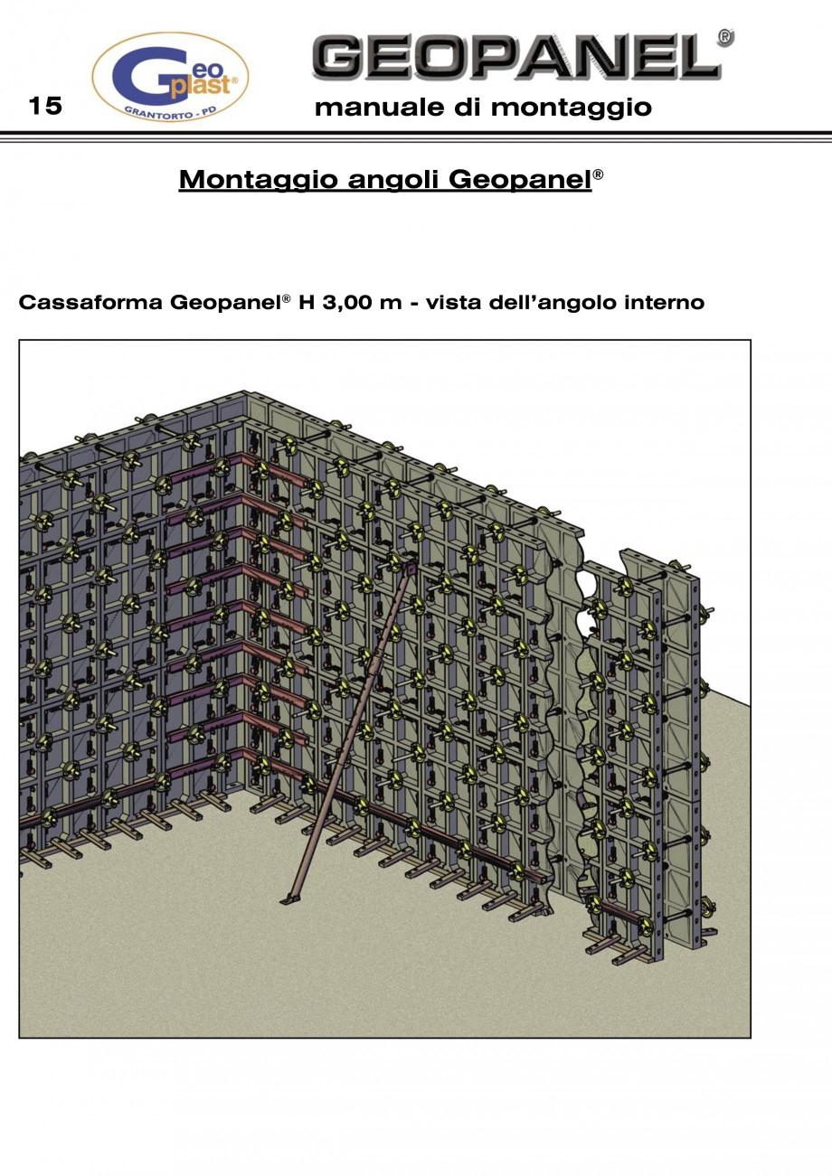 Pagina 16 - Cofraje refolosibile din material plastic pentru zidari GEOPLAST GEOPANEL®...
