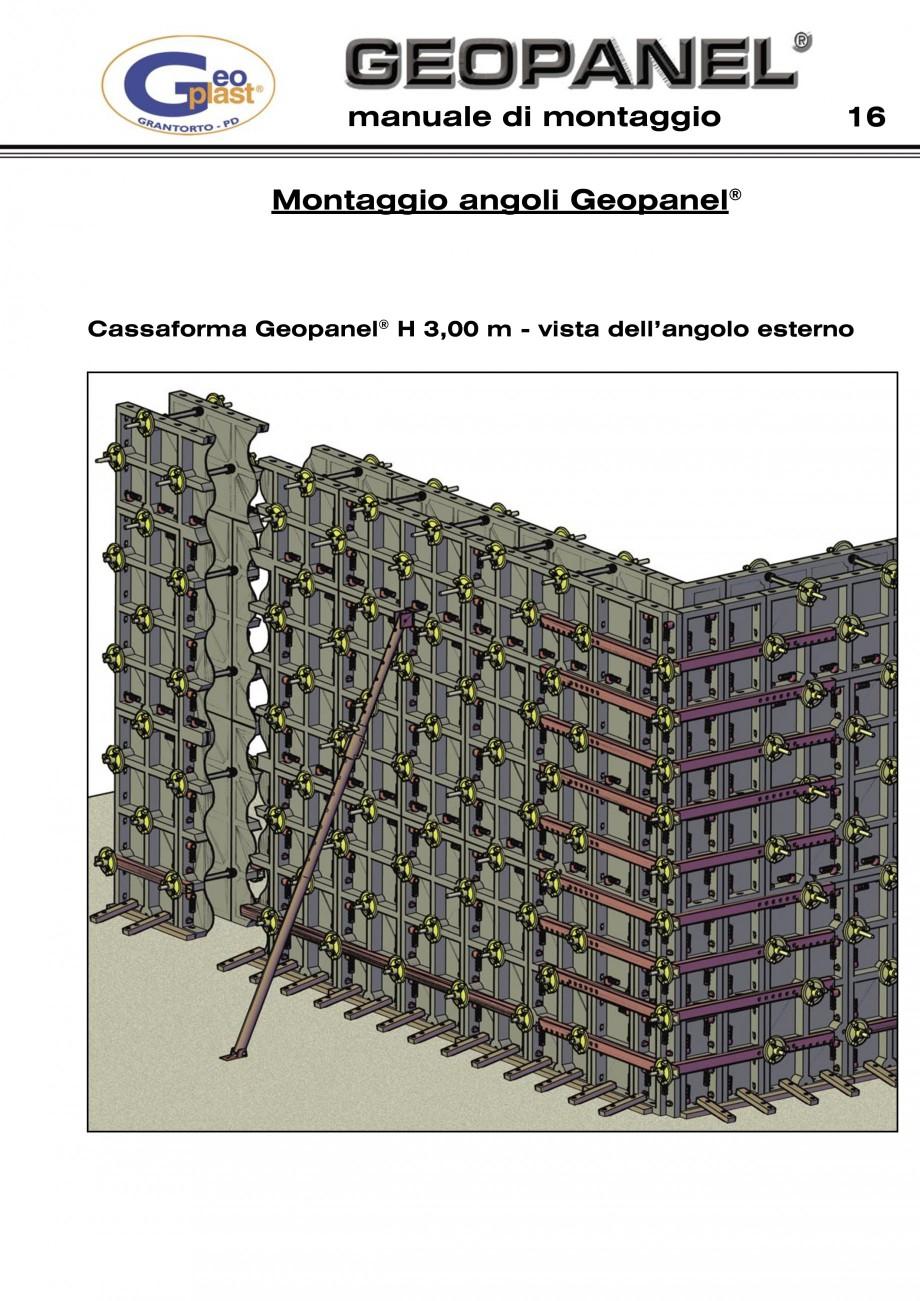Pagina 17 - Cofraje refolosibile din material plastic pentru zidari GEOPLAST GEOPANEL®...