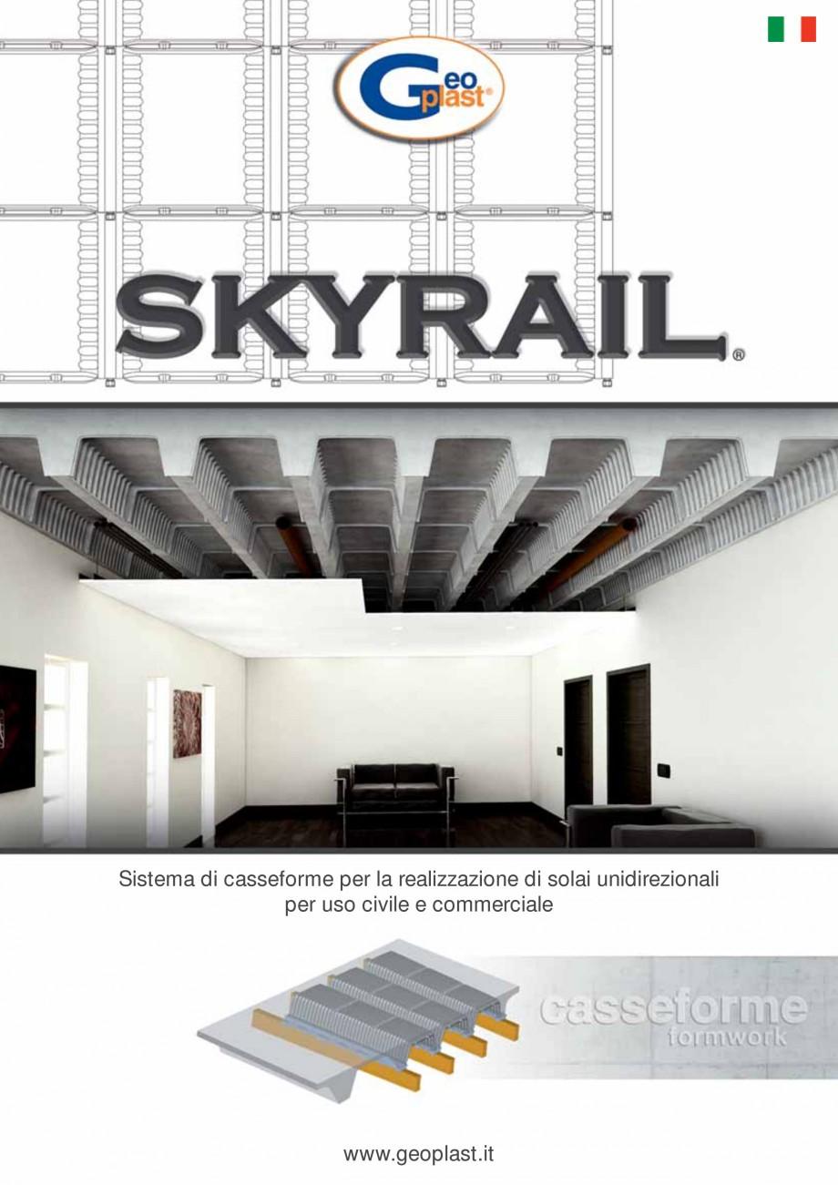Pagina 1 - Cofraje refolosibile pentru plansee cu nervuri pe o singura directie GEOPLAST SKYRAIL®...