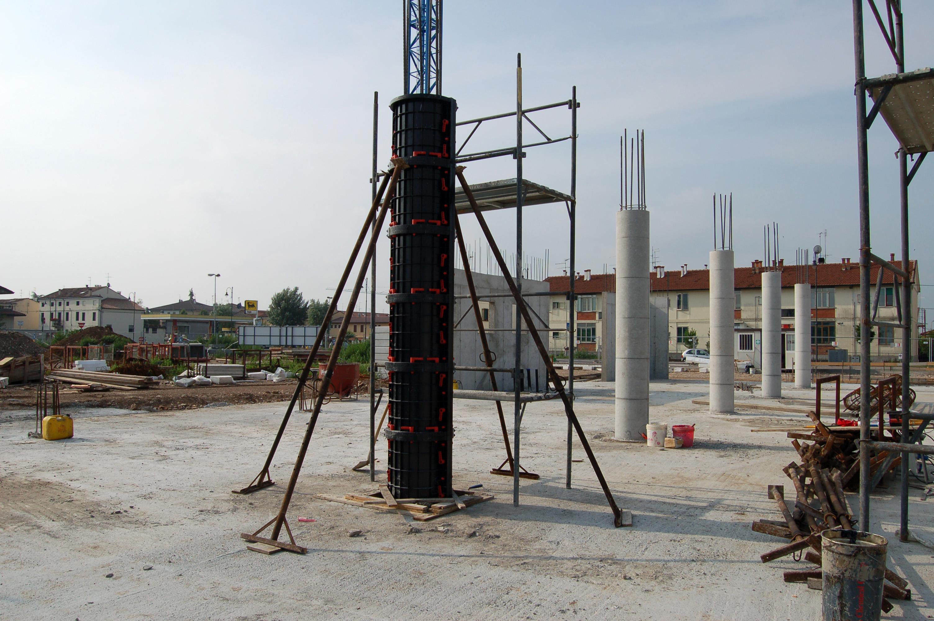 Cofraje refolosibile pentru coloane cilindrice GEOPLAST - Poza 4