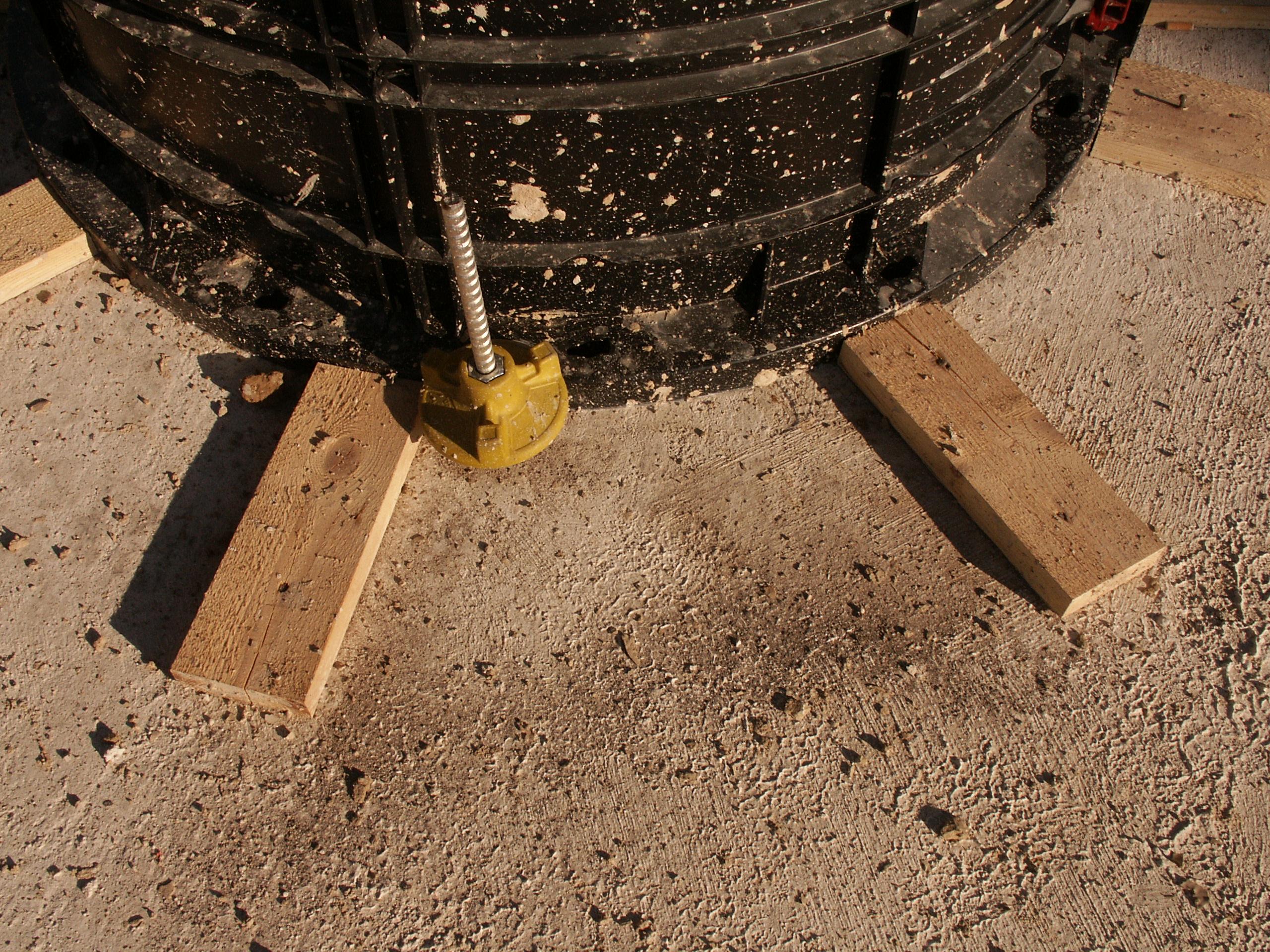 Cofraje refolosibile pentru coloane cilindrice GEOPLAST - Poza 9