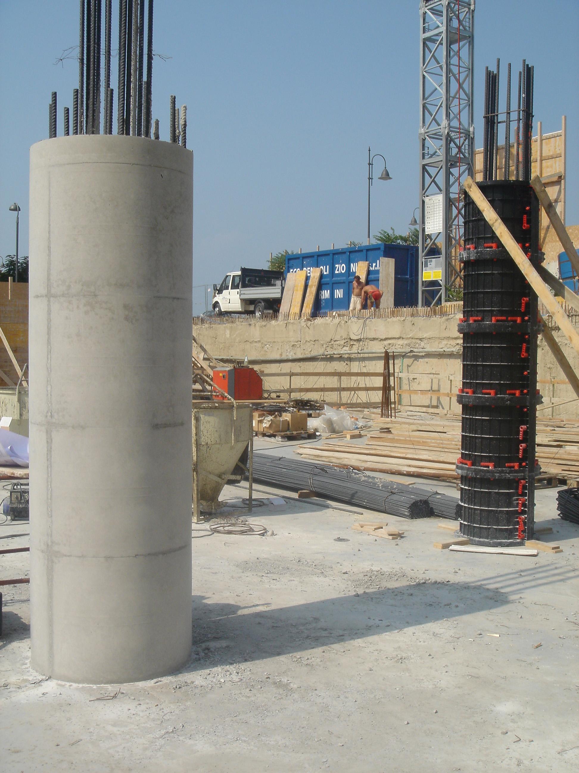 Cofraje refolosibile pentru coloane cilindrice GEOPLAST - Poza 10