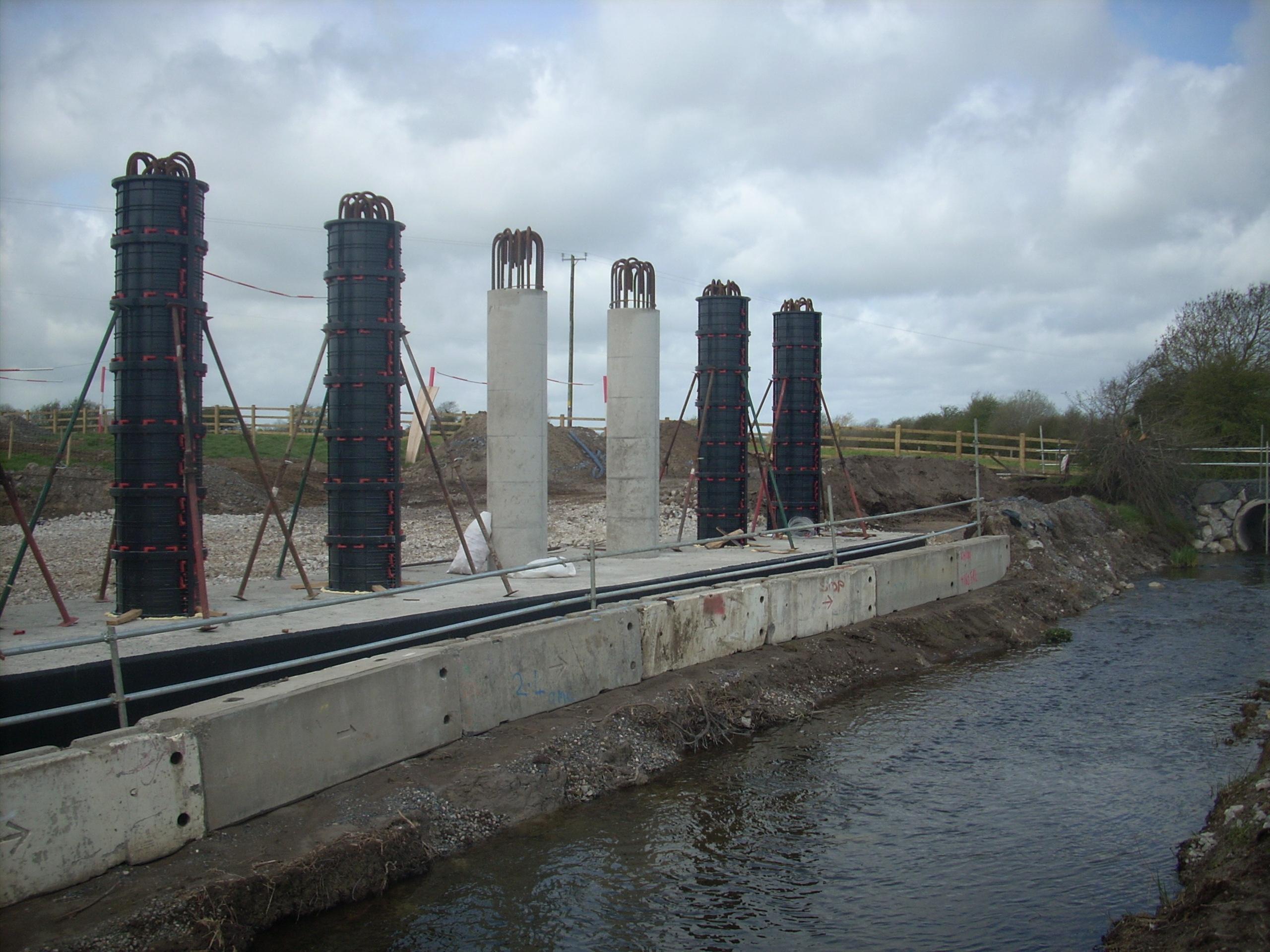 Cofraje refolosibile pentru coloane cilindrice GEOPLAST - Poza 14
