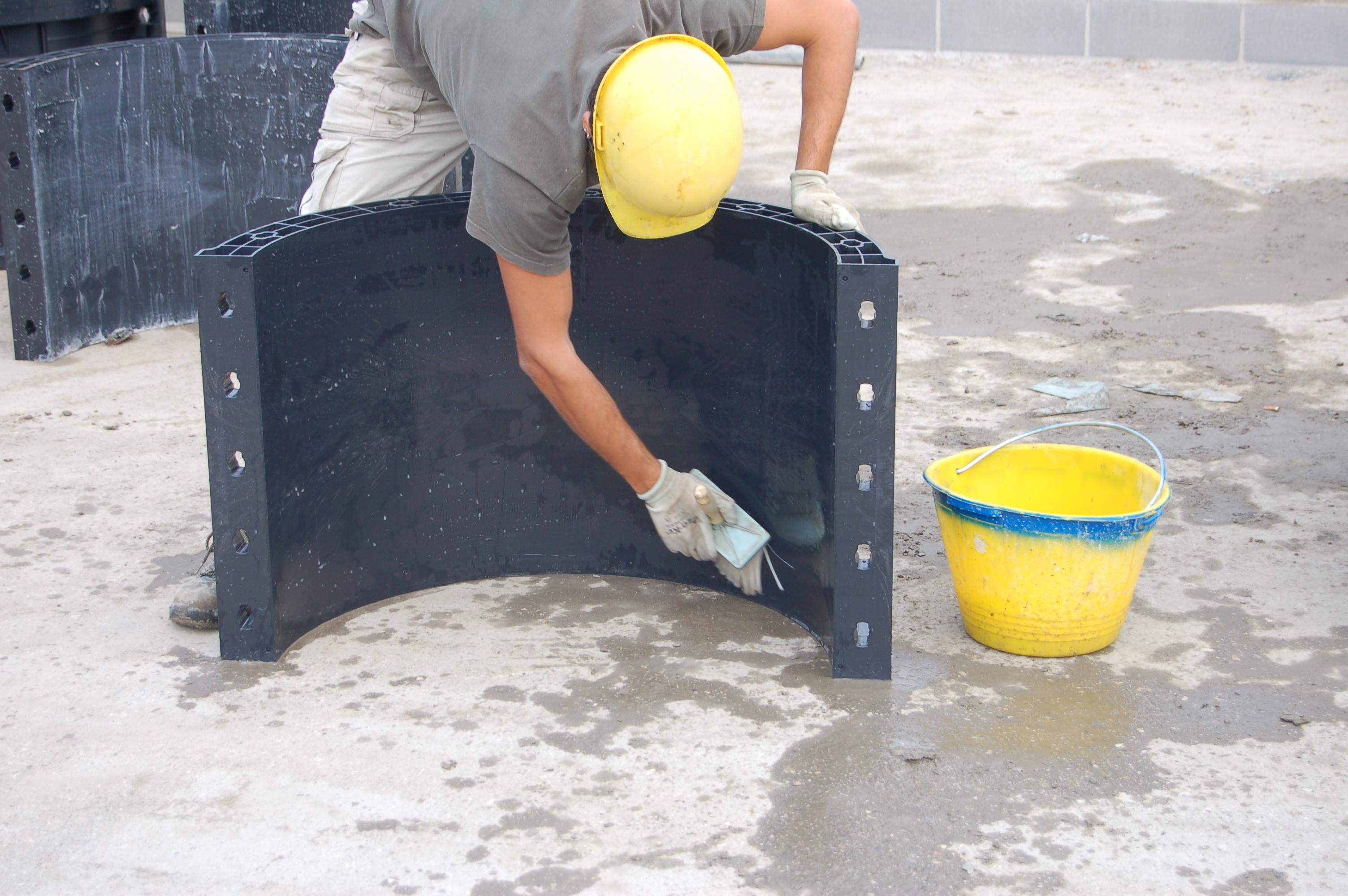 Cofraje refolosibile pentru coloane cilindrice GEOPLAST - Poza 17