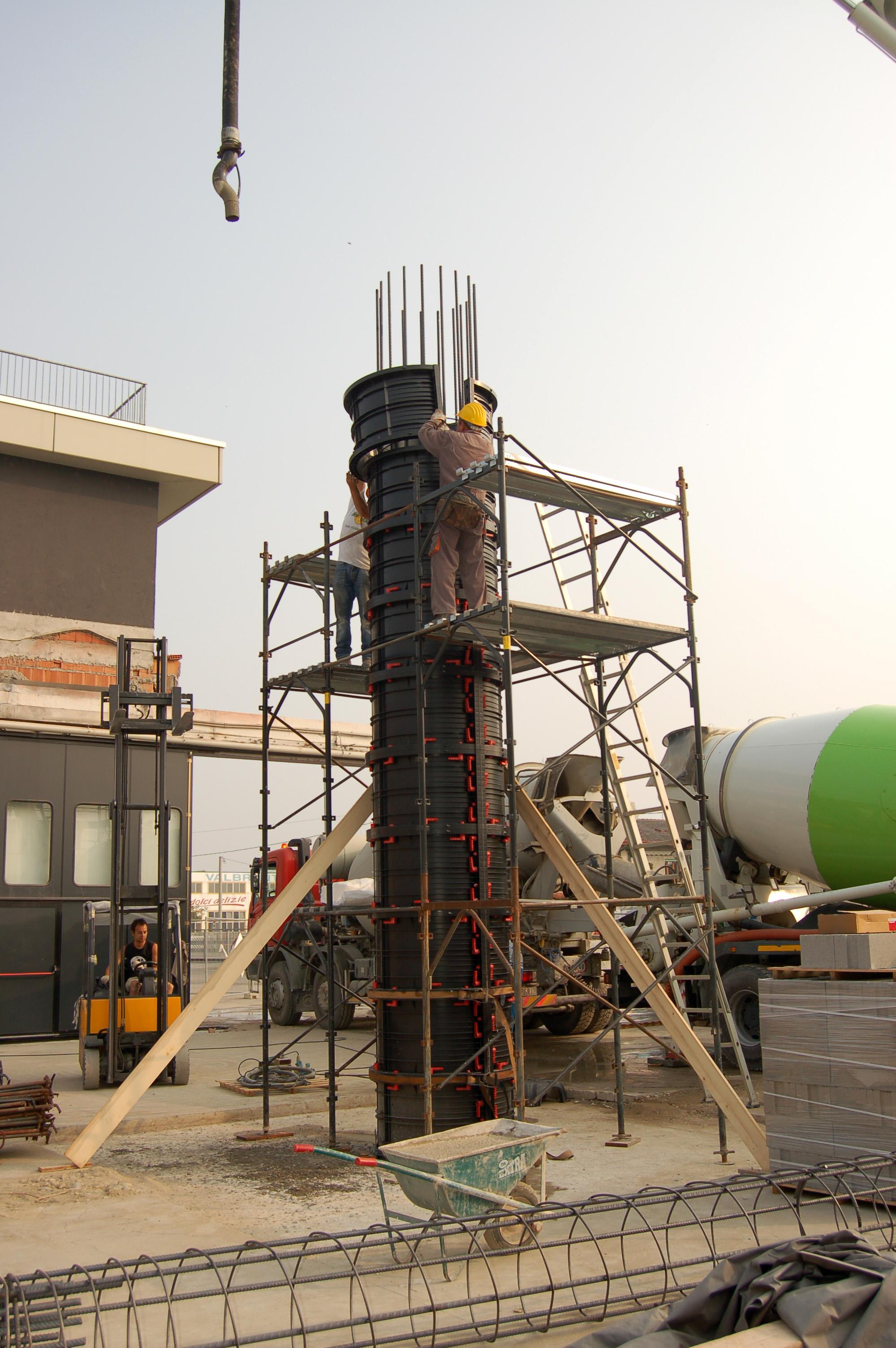 Cofraje refolosibile pentru coloane cilindrice GEOPLAST - Poza 19