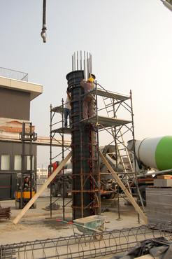Executie, montaj Cofraje refolosibile pentru coloane cilindrice GEOPLAST - Poza 19