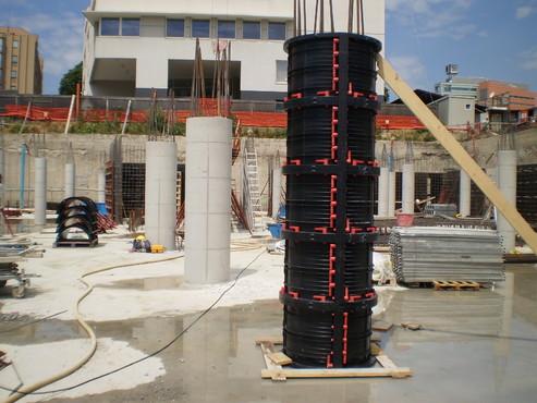 Executie, montaj Cofraje refolosibile pentru coloane cilindrice GEOPLAST - Poza 21