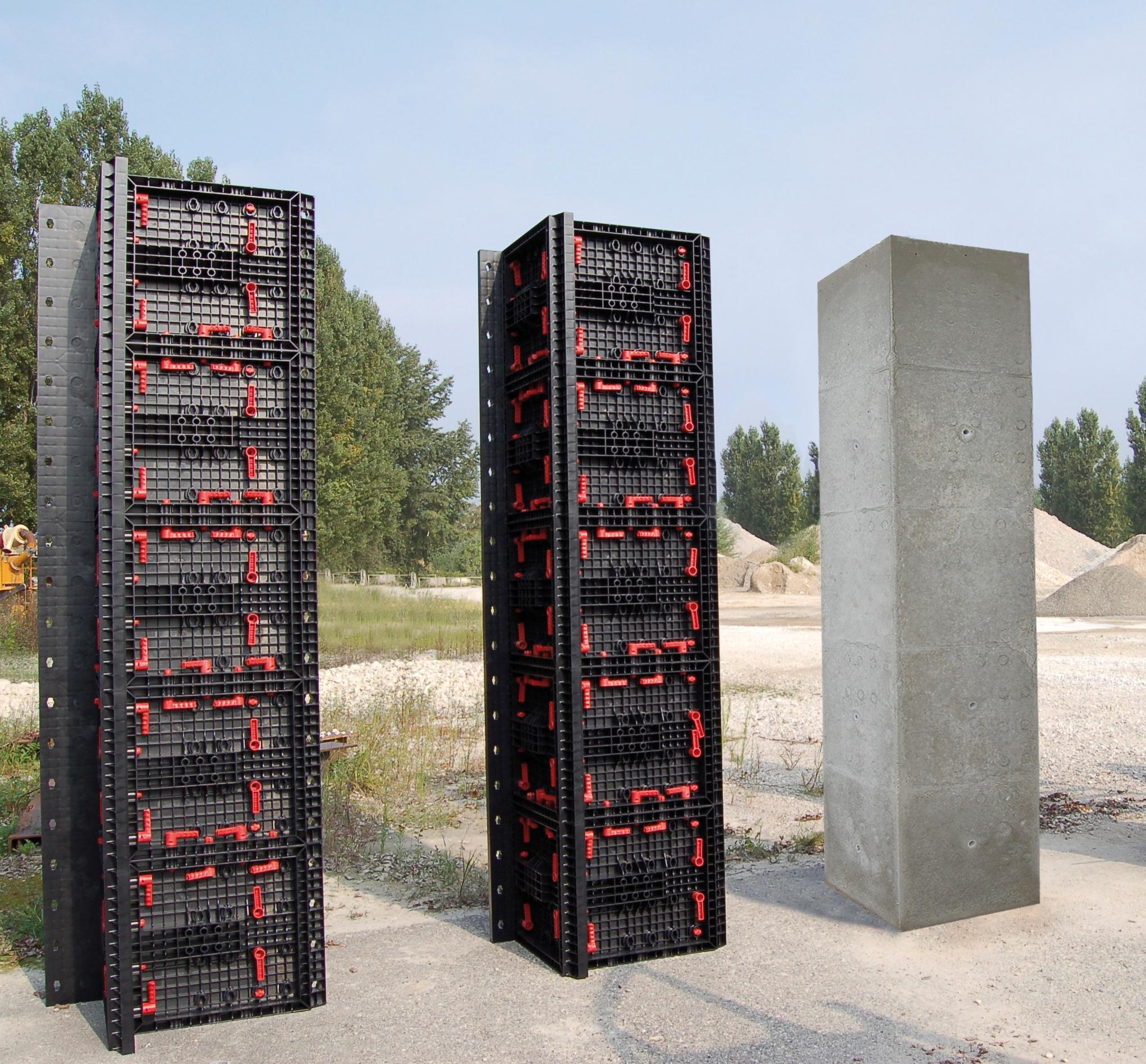Panouri refolosibile de cofraj modular GEOPLAST - Poza 1