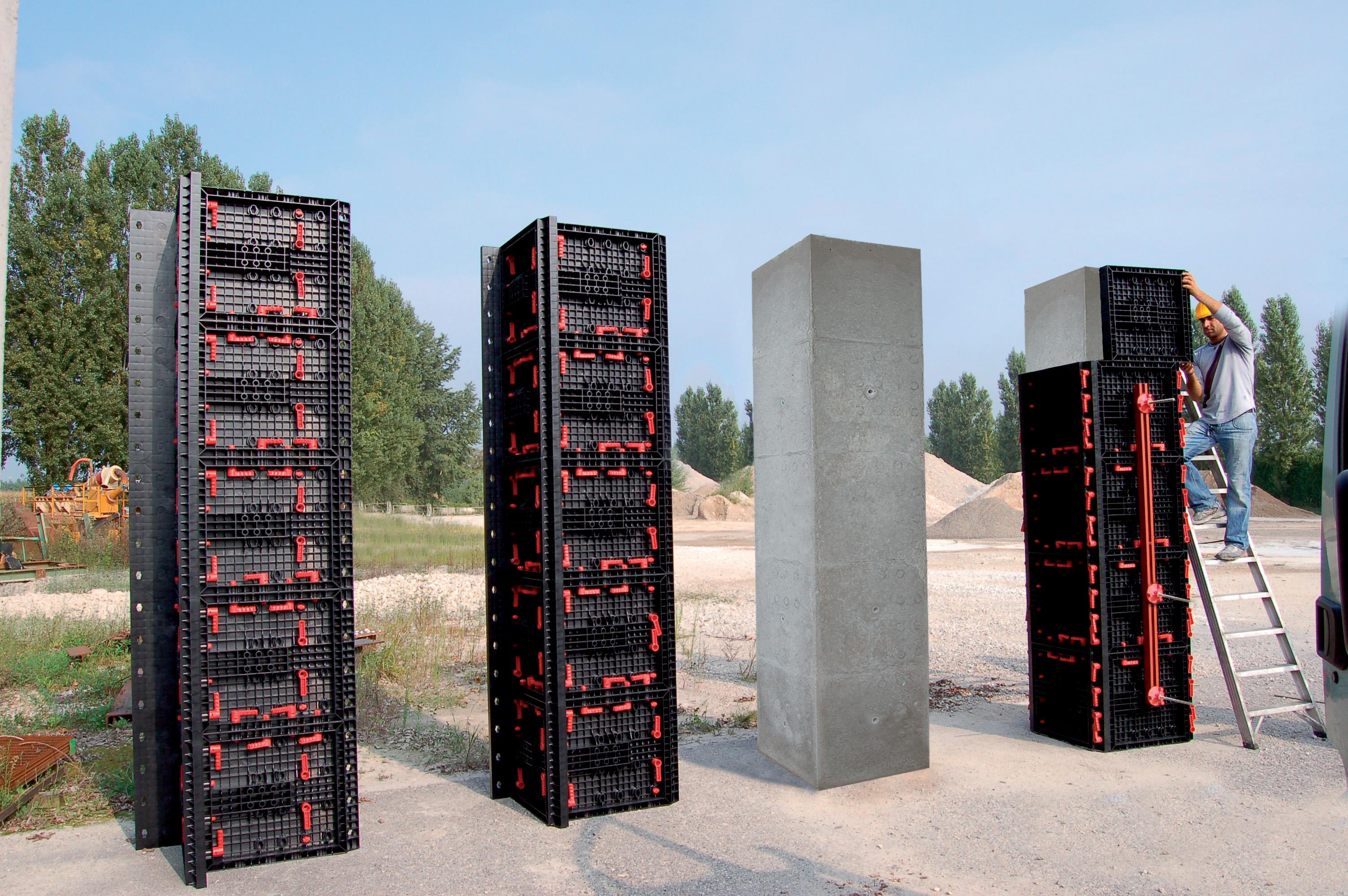 Panouri refolosibile de cofraj modular GEOPLAST - Poza 2