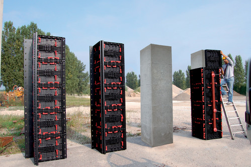 Executie, montaj Panouri refolosibile de cofraj modular GEOPLAST - Poza 2