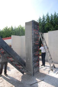 Executie, montaj Panouri refolosibile de cofraj modular GEOPLAST - Poza 6
