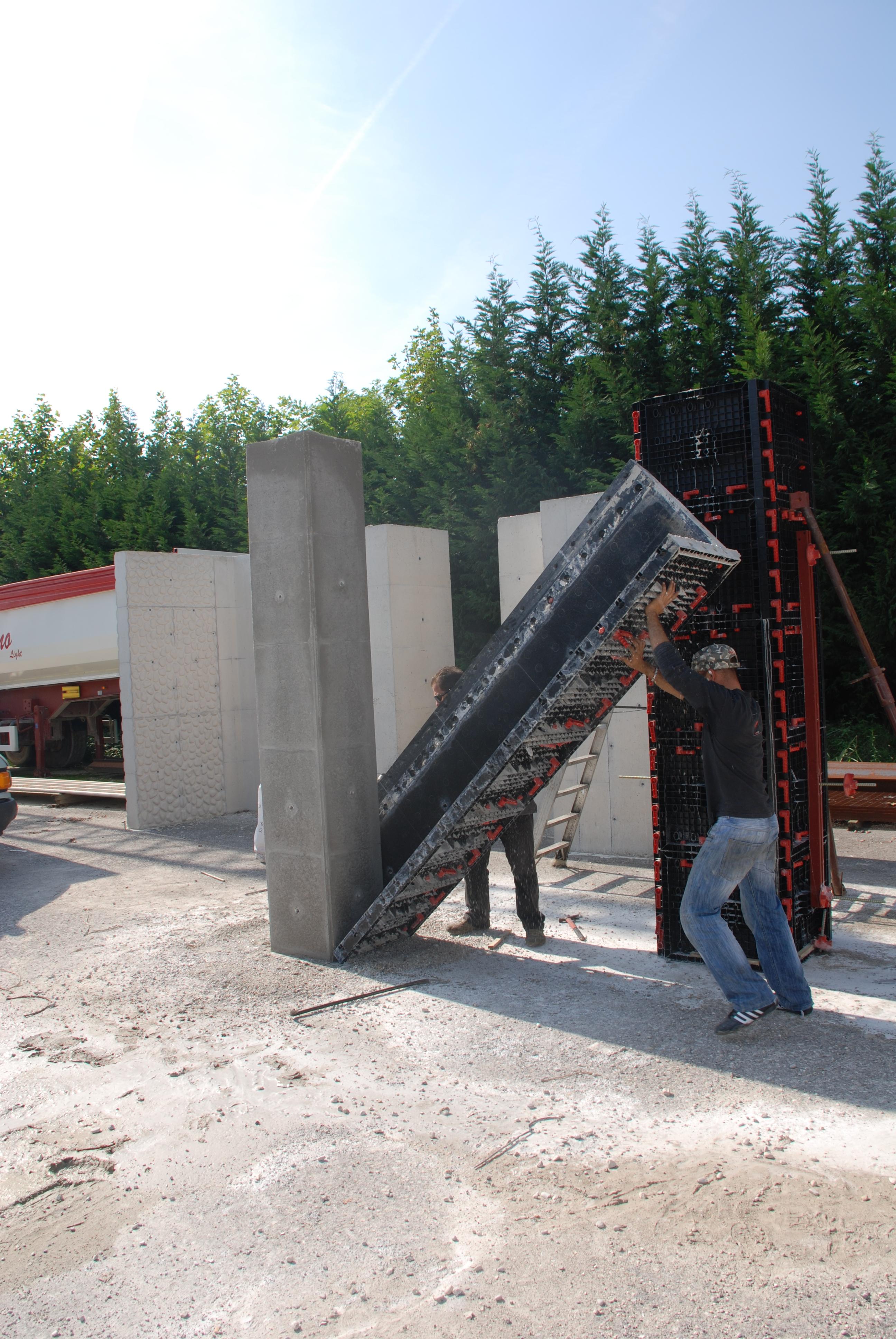 Panouri refolosibile de cofraj modular GEOPLAST - Poza 7