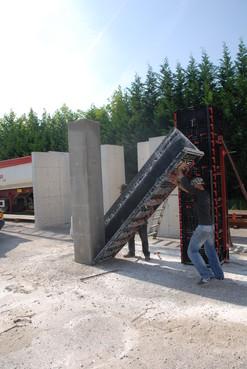 Executie, montaj Panouri refolosibile de cofraj modular GEOPLAST - Poza 7