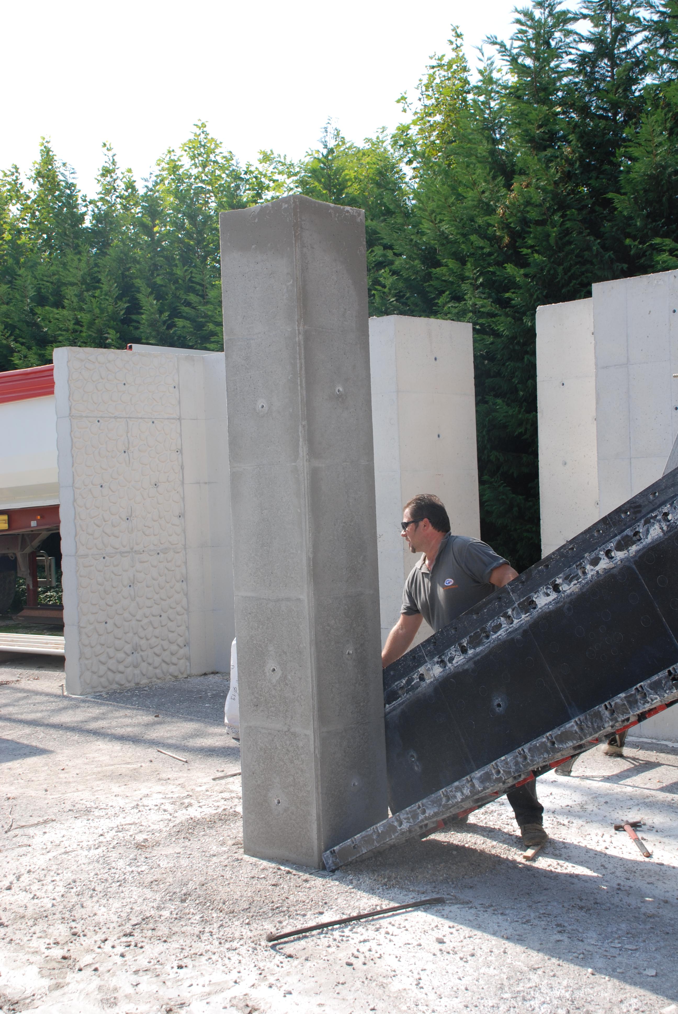 Panouri refolosibile de cofraj modular GEOPLAST - Poza 8