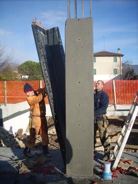 Executie, montaj Cofraje modulare refolosibile pentru coloane patrate sau dreptunghiulare GEOPLAST - Poza 12