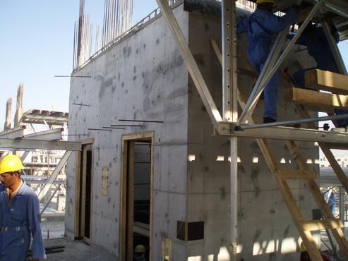 Executie, montaj Cofraje refolosibile din material plastic pentru zidari GEOPLAST - Poza 22