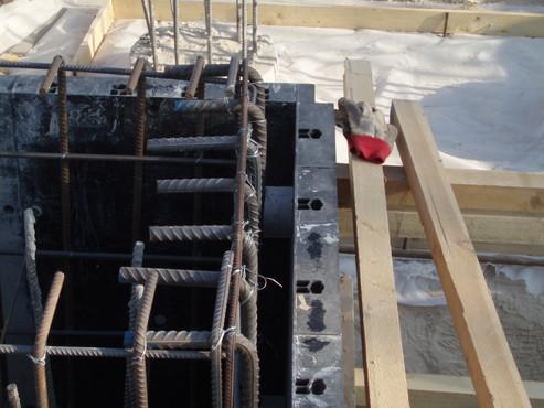 Executie, montaj Cofraje refolosibile din material plastic pentru zidari GEOPLAST - Poza 23