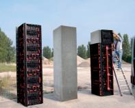 Cofraje reutilizabile cu diverse aplicatii precum zidarie sau plansee