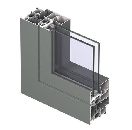 Profile din aluminiu pentru ferestre CS 68 REYNAERS ALUMINIUM - Poza 6