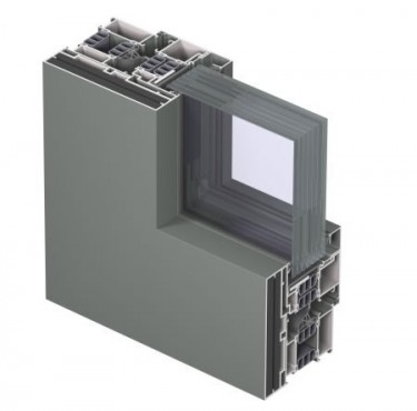 Profile din aluminiu pentru ferestre CS 77 REYNAERS ALUMINIUM - Poza 9