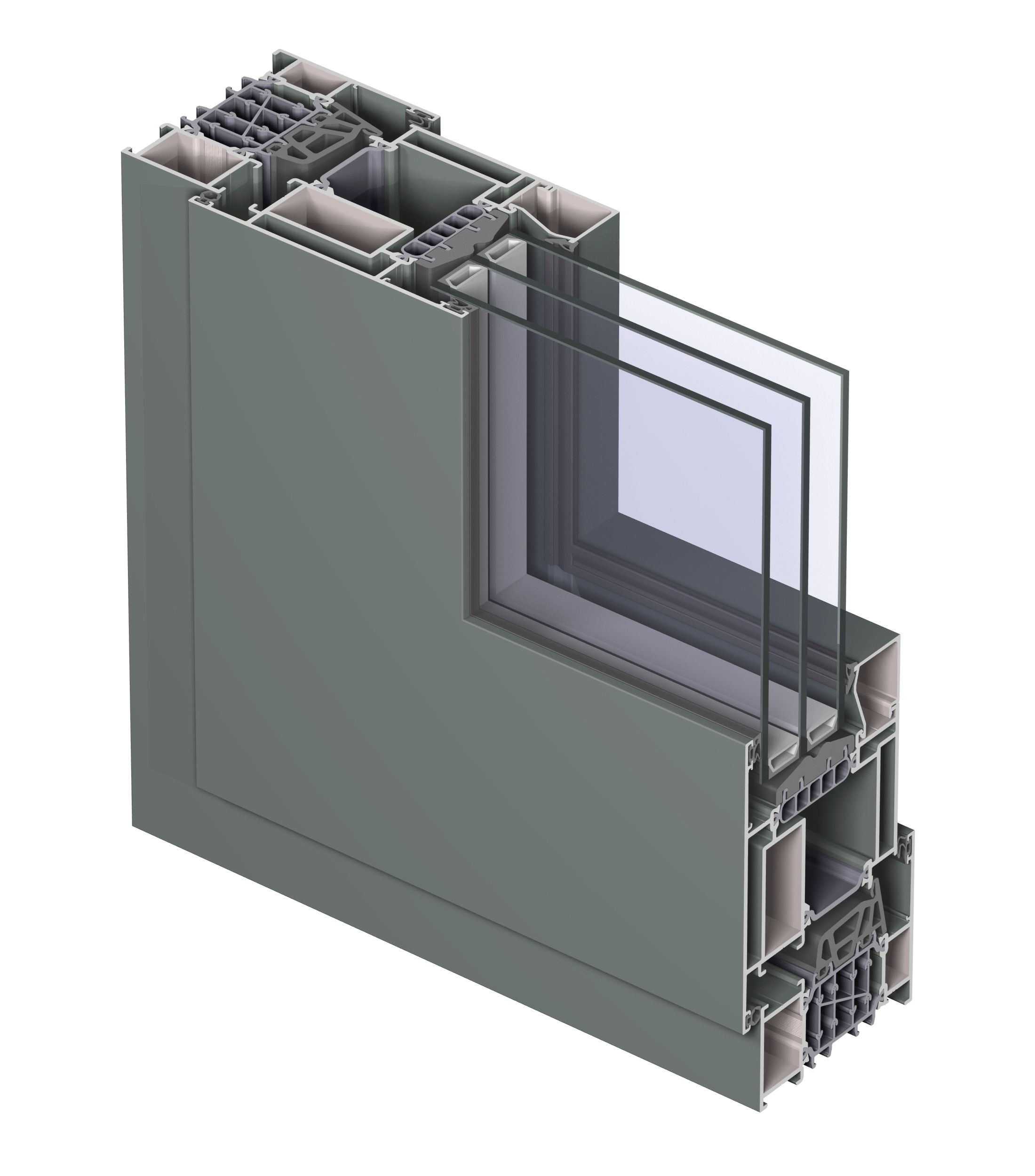 Profile din aluminiu pentru ferestre REYNAERS ALUMINIUM - Poza 14
