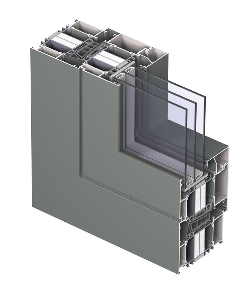 Profile din aluminiu pentru ferestre REYNAERS ALUMINIUM - Poza 16