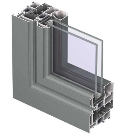 Profile din aluminiu pentru usi CS 68 REYNAERS ALUMINIUM - Poza 12
