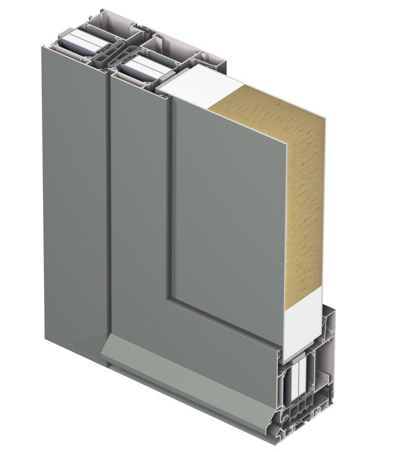 Profile din aluminiu pentru usi CS 104 REYNAERS ALUMINIUM - Poza 24