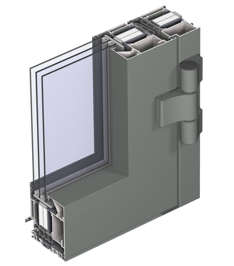 Profile din aluminiu pentru usi CS 104 REYNAERS ALUMINIUM - Poza 25