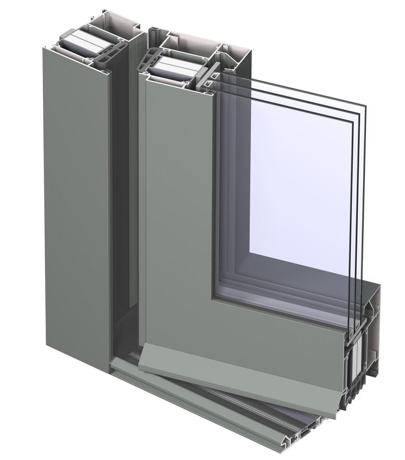 Profile din aluminiu pentru usi CS 104 REYNAERS ALUMINIUM - Poza 26