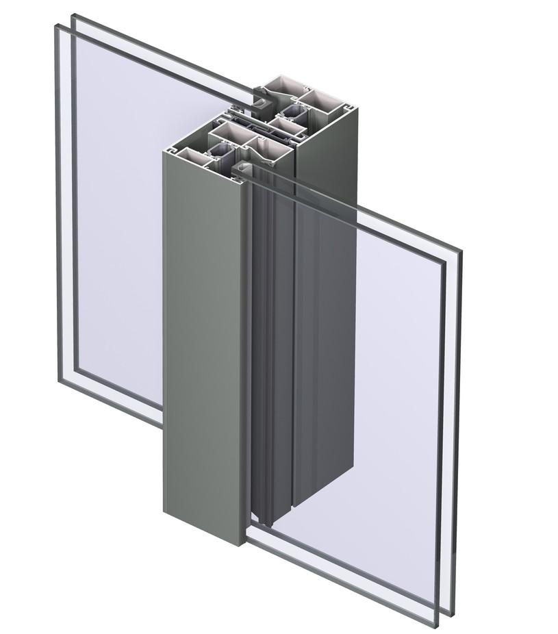 Profile din aluminiu pentru usi glisante CP 130 REYNAERS ALUMINIUM - Poza 28